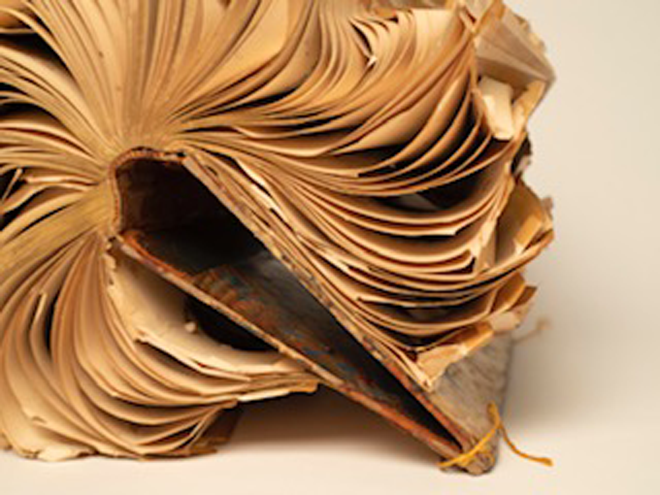 """All That Remains"" Altered Book"