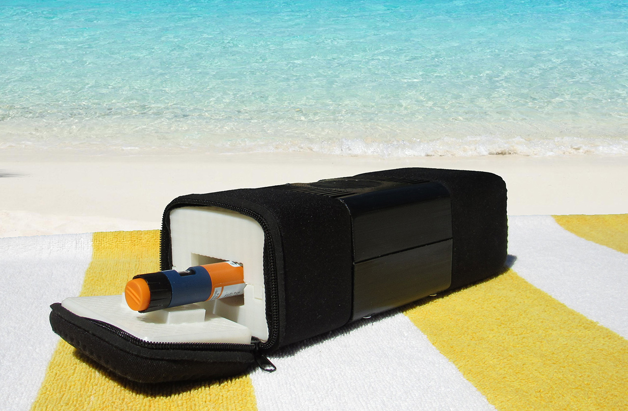 Cool-in portable thermoelectric insulin pen cooler