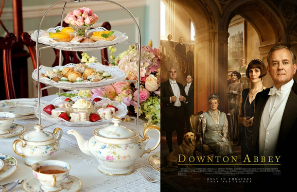 Downton Abbey the Movie Private Screening & Downton English Tea Party Package