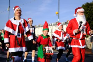 Get a little exercise while you help out the community in the Rotary Santa Run!