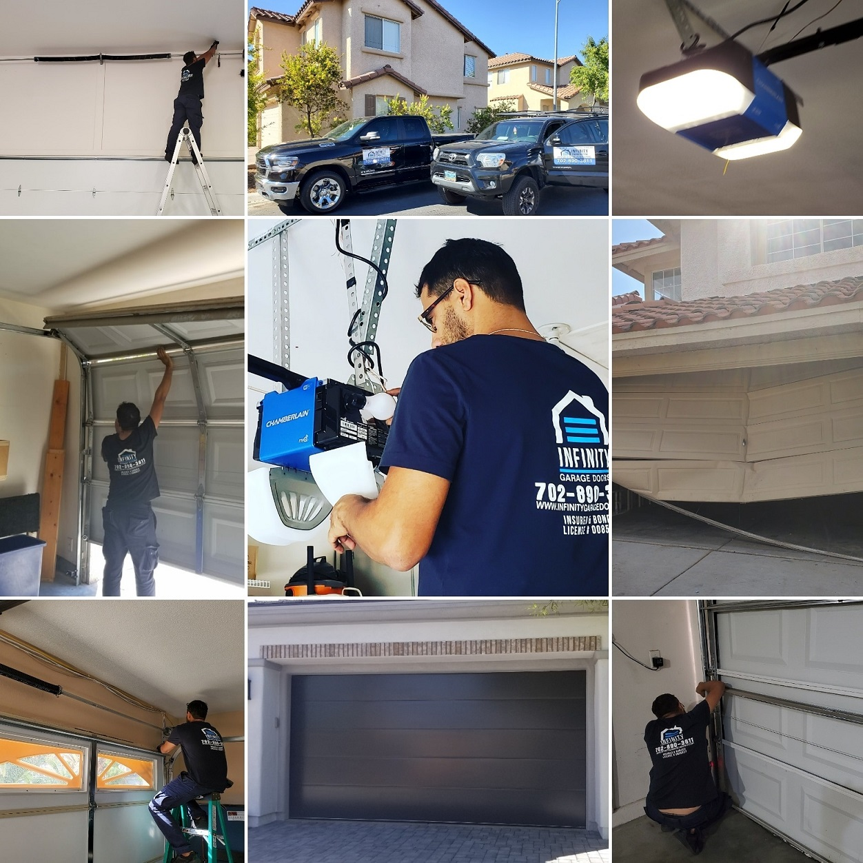 infinity garage door repair las vegas 3
