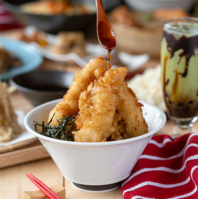 Shrimp Tempura Don