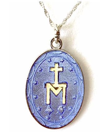 Vitreous Enamel Medal of Pilgrimage from Tresor Bleu